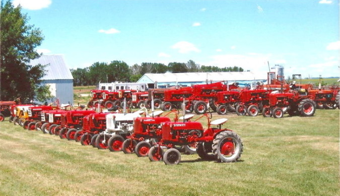 The International Harvester Tractors of Mick and Carol Osterman