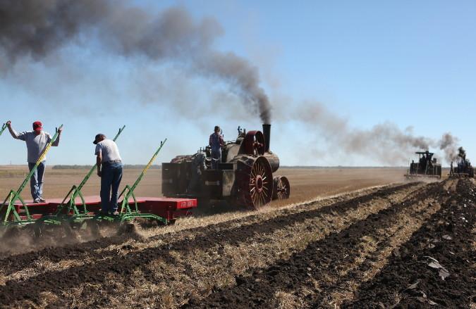 Steamer Plowing Demonstration