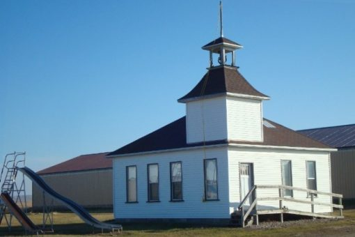 THE OLD ONE-ROOM SCHOOLHOUSE