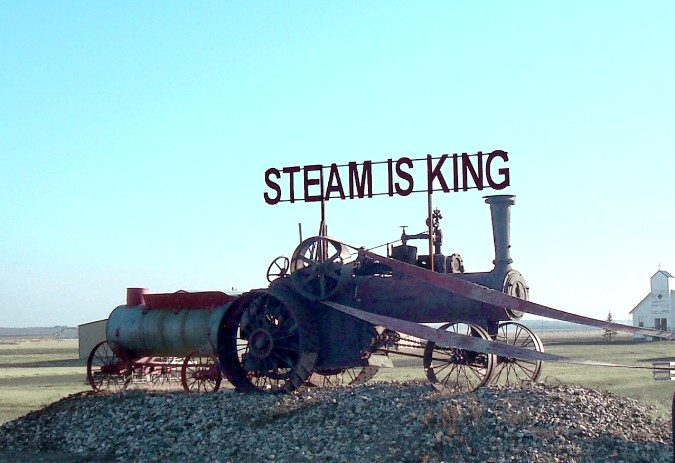 STEAM IS KING